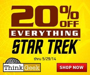 20% Off Everything Star Trek