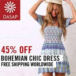Summer Boho Dress