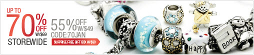 Pugster Jewelry Affiliate 2013 Jan Clearance 70% Off. CODE: 70JAN
