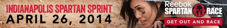 Indianapolis Spartan Sprint, April 26, 2014, Sign Up Now for this Reebok Spartan Race!