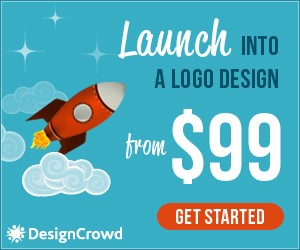 DesignCrowd discount code - logo design