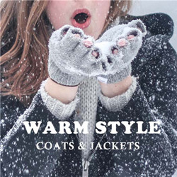 Get Up to 50% off Coats & Jackets.