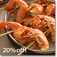 Save 20% On Wild Pacific Spot Prawns & Get Free Shipping On Orders Over $99 Using Code: SPJY18 At Vi