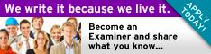 Write for Examiner.com