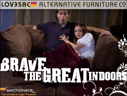 LoveSac.com - Brave the Great Indoors