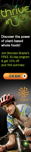 Join Thrive in 30 and get 15% off Vega Coupon