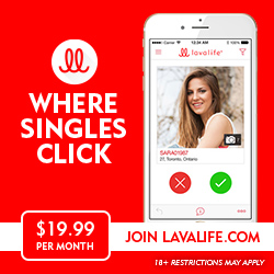 Join Lavalife.com for $19.99/mo!