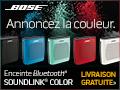 Livraison gratuite sur l'Enceinte Bluetooth® SoundLink® Couleur.