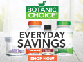 Save up to 70% on vitamins at Botanic Choice