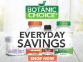 Save up to 70% on vitamins at Botanic Choice