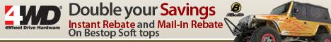 Bestop Soft Tops: Instant Rebate and Mail-In Rebat