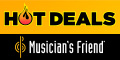 All the Hottest Deals at Musician's Friend