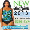 New Delta Burke 2013 - Now available in sizes 12+ at SwimsuitsForAll.com