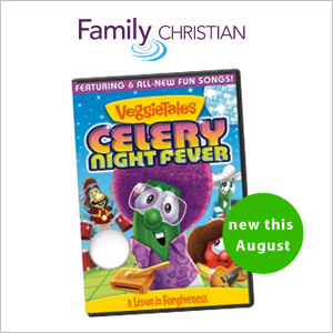 VeggieTales Celery Night Fever, available August 2014