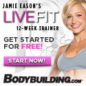 Live Fit Jamie Eason 12 Week Trainer 125x125