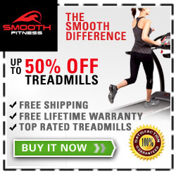 home treadmill reviews - save at Smooth Fitness