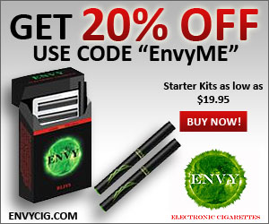 20% off of your order with the code EnvyMe
