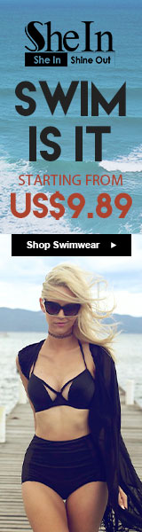 Swim is it!  Swimwear on sale starting from $9.89 at SheIn.com! Sale ends 4/18