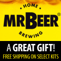 MAKE BEER AT HOME - HOME BREW KIT FROM MR BEER