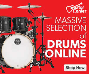 Drum & Percussion category at GuitarCenter.com