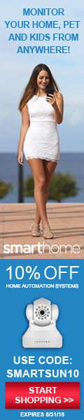 10% off with Coupon Code SMARTSUN10 - shop Smarthome.com now!