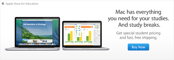 Our college offer ends soon. Buy a Mac, iPad, or iPhone for college by 9/6 and get a gift card.