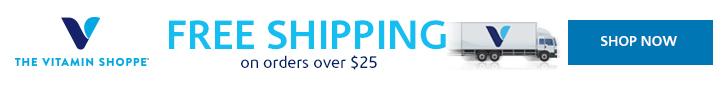 Free Shipping at Vitamin Shoppe