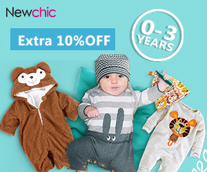 Extra 10% Off Baby Clothing (0-3Years)