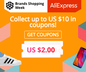 #coupons,-AliExpress Brands Shopping Week: Collect up to US $10 in coupons!
