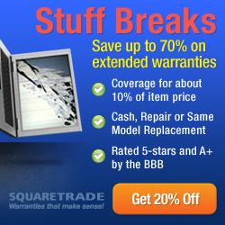 Get a SquareTrade Warranty