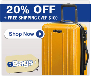 20% Off + Free Shipping Over $100 at eBags!