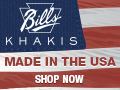 Deals on Bills Khakis Coupon: Extra 10% Off Your Order