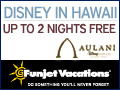 Aulani Disney Resort Sale!