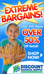 Extreme Bargains! Over 400 items that are UP TO 70% OFF retail prices!
