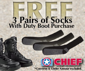 Free Socks with Boots