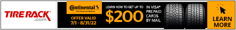 Get $60 Back By Mail on a Firestone Visa Prepaid Card*