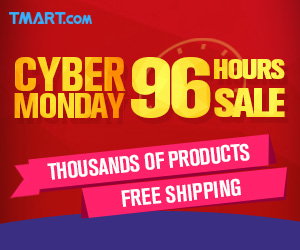 96 Hours Crazy Sale for 2016 Cyber Monday