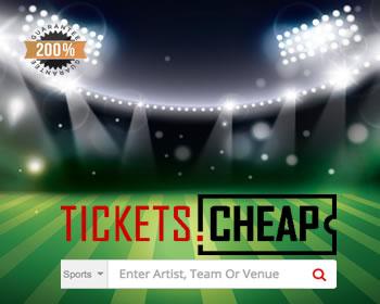 Tickets.Cheap MLB, NHL, NBA, NFL, Sports Tickets!