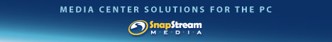SnapStream Media Center Solutions for the PC