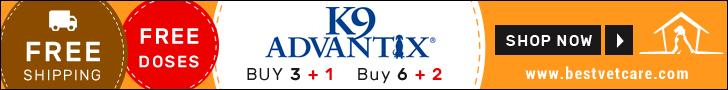 Buy Cheap K9 Advantix Online For Dogs