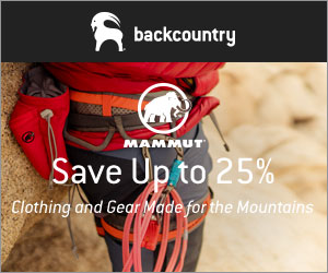 25% Off Mammut Current Season Products