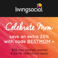 25% Off Living Social   Two Days ONLY!