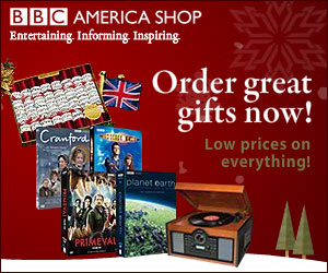 Great Holiday Gifts from BBC America Shop
