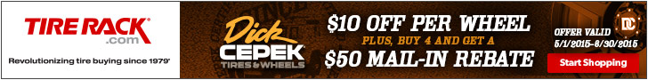 Dick Cepek Wheels: $10 Off Per Wheel + Buy Four and Get a $50 Prepaid Card