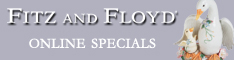 Image  Shop Fitz and Floyd Dinnerware, Decor and M