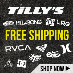 Shipping - Tilly's Free Shipping - 250x250