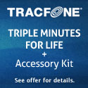 Triple Minutes for Life with the Motorola EX124G!