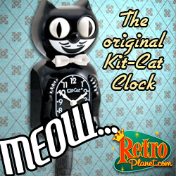 Original Kit-Cat Clock in Retro Box
