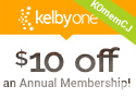 $10 off an Annual Membership to KelbyOne with Code: KOmemCJ