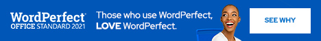 Learn more about Corel WordPerfect Office